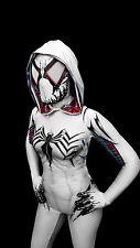 Gwenom Venom Symbiote Cosplay Comic-con Female Costume