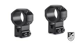 HAWKE 24108 taktische Ringmontage  9 bis 11mm Extra Hoch 30mm 2 Stück