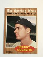 F64111  1962 Topps #472 Rocky Colavito AS INDIANS