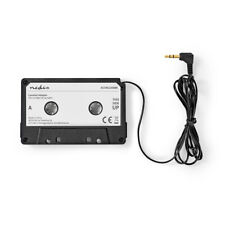 ADAPTATEUR CASSETTE VOITURE AUTORADIO JACK AUX MP3 TELEPHONE IPHONE ETC...