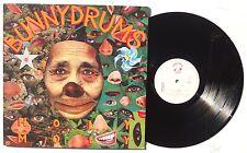 BUNNYDRUMS: Holy Moly LP FUNDAMENTAL RECORDS SAVE 2 Holland 1984 Lyric Sheet NM