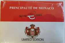 Monaco 2001 Gesealde klapfolder met 1 en 2 Euromunt (Nr. 0417)