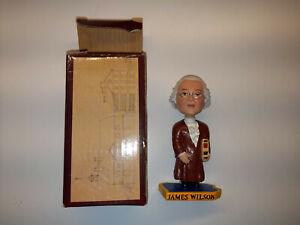 Green Bag Bobblehead Supreme Court Justice James Wilson (still in box)