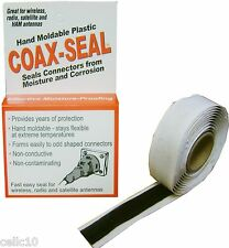 Coax Seal Moldable Plastic Sealant - Watertight Coaxial Cable Connector Tape USA