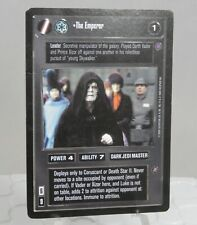 Star Wars CCG Reflections 2 II The Emperor Card