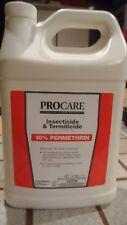 ProCare Insecticide & Termiticide gal Conc 10% Permethrin Termites Carpenter Ant