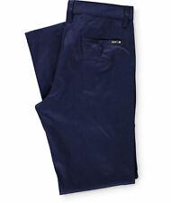 Huf Worldwide Footwear Skate Shoes Chino Pants Trousers Fulton Slim Navy in 30