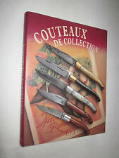 COUTEAUX de COLLECTION Dominique PASCAL éditions EPA
