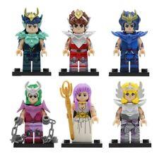 Saint Seiya Set 6 figurines, Shiryu, Seiya, Hyoga, Ikki  Chevaliers de Bronze