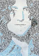 Framed Print - Led Zeppelin Stairway to Heaven Song Lyrics Artwork (Picture Art)