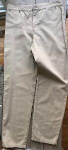 New Liz Claiborne Jeans Beige Pants 10 P Petite Soft Cotton