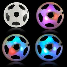 Air Power Soccer Disk With Led Ball Light Up Football Hover Disc Great Present