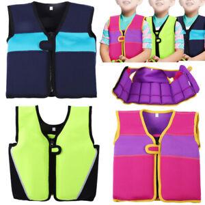 Kids Swim Float Vest Swimming Suits Buoyancy Aid Baby Life Safety Jacket Sale
