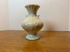 "New listing Vintage Lenox Cottage Small Vase Fine Bone China Gold Trim 4.5"""