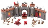 KIDS TOY CASTLE PLAYSET 37PCS! MEDIEVAL KNIGHT ADVENTURE TOYS ROLE PLAY ACTIVITY