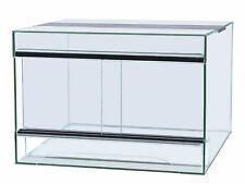 Terrarium 50x30x40cm mit Schiebetür, Glas, Spinnen, Amphibien, Reptilien, Gecko