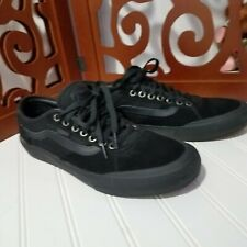 Vans Chima Ferguson Pro Skate Shoes Men's Size 10 Black On Black 43 Eur