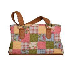 "Donna Sharp ""Sunny"" REESE Handbag 13.25"" x 8"" x 4.5"" NWT"