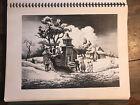 "Print ""Sunday Morning"" Thomas Hart Benton from book of American prints 1939"
