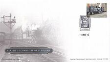 (40456) GB FDC Classic Locomotives of Scotland Diamond Jubilee London 2012