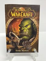 World of WarCraft GAME MANUAL ONLY - PC 2004 Blizzard