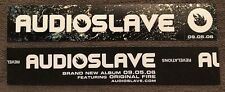 Audioslave Revelations Promo Sticker 2006 Soundgarden Chris Cornell RATM