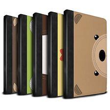 STUFF4 PU Leather Book Case/Cover for Apple iPad Mini 4/Animal Stitch Effect