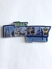 Walt Disney World Large Plastic Word Name magnet