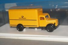 "BOX10 Brekina 4108 Magirus Koffer ""Deutsche Bundespost"" -OVP-"