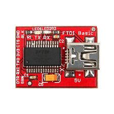 FTDI Basic Breakout,FTDI FT232RL USB to serial IC,for Arduino LilyPad Fio/Pro