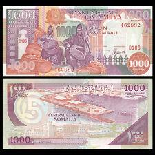 Somalia 1000 Shillings, 1996, P-37, UNC