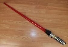 Unbranded Star Wars Style Plastic Red Lightsaber Toy Costume Prop Only **READ**