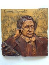 Lewis Carroll plaque honoring author on his 160th birthday SIGNED (1992)