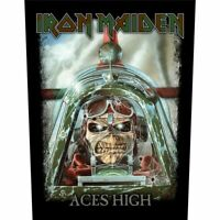 Iron Maiden Patch Aces High Backpatch