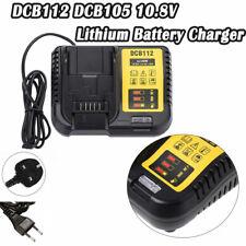 REGNO UNITO Spina ADATTA PER DEWALT DCB112 DCB105 10.8V 14.4V 18V/20V Li-Ion Batteria al Litio