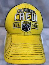 COLUMBUS CREW Est 1996 Soccer MLS Adjustable Adult Ball Cap Hat