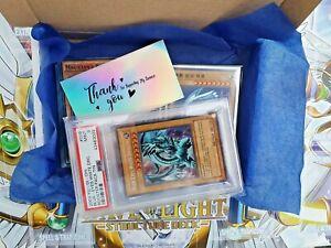 Yu Gi Oh! Graded Card Bundle! (PSA,GG,CGA,BKT,BCCG) 1st & UNL! LOB, SDK, BPT + !