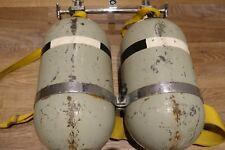Supermarine Spitfire Sauerstoff Flaschen original Rarität