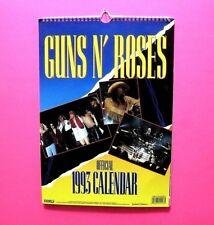 Guns N Roses Official Vintage 1993 Calendar Not Patch Shirt Cd Lp Poster Uk Made