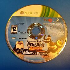 The Penguins of Madagascar Dr. Blowhole Returns (XBOX 360) DISC ONLY 5764