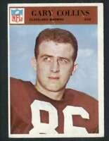 1966 Philadelphia #42 Gary Collins VG/VGEX Browns 66946