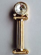Vintage CHRISTIAN DIOR BOUTIQUE Germany Crystal Brooch Pin