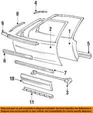 Pontiac GM OEM Grand Prix EXTERIOR TRIM-DOOR-Body Side Molding Right 88892134