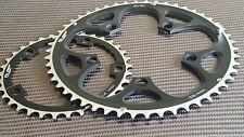 (2x) FSA Team Issue Chainrings (34 + 50t) Road Bike CAMPAGNOLO 10/11s Compact