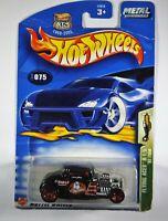 Hotwheels 32 Ford Diecast Car Black The Eagle Squadron 075 Highway 35 Mattel