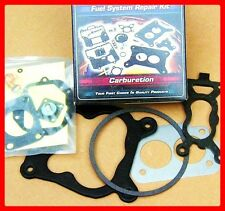MARINE CARBURETOR REBUILD KIT & FLOAT - Rochester Quadrajet 4 BBL TUNE-UP REPAIR