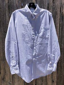 Brooks Brothers Black Fleece Dress Shirt White Blue Check Sz S BB1