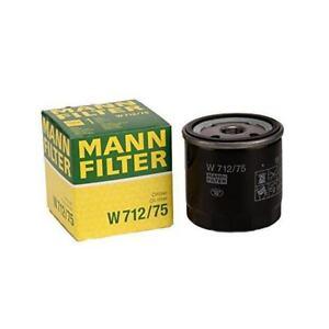 Mann-filter Oil Filter W712/75 fits HOLDEN ASTRA TS 1.8 i 2.0 i Turbo