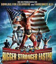 BIGGER,STRONGER,FASTER - DVD - DOCUMENTARY Steroids Bodybuilding - HULK HOGAN