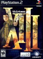 XIII (Playstation 2) 13 PS2 Thirteen